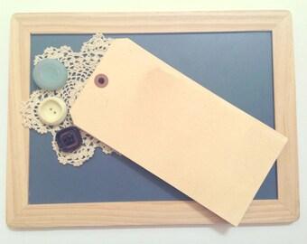 50 JUMBO Vintage Wedding Tags. Rustic Luggage Tag. Menu. Ceremony Program. Paper Luggage Tag. Seating Card. Place Card Chart. 8 x4. LIGHT