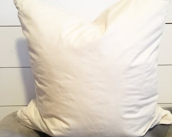 """Feather Down Insert for our 18""""x18""""Pillow"""