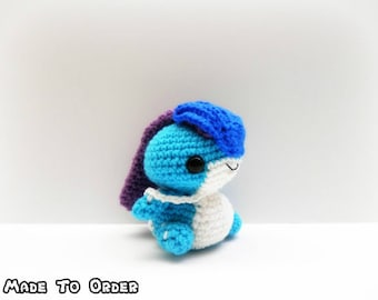 Crochet Suicune Inspired Chibi Pokemon