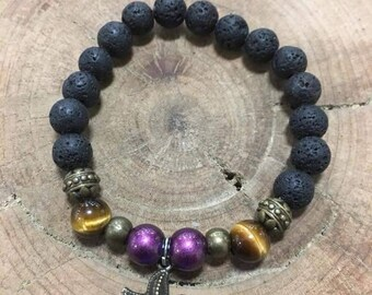 Midnight Star Diffuser Bracelet