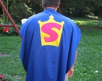 Adult Custom Superhero Cape Custom Adult size