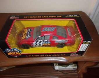 NASCAR 1/24 scale die cast stock car - Nashville - 1  of 2000