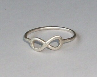 Sterling Infinity Ring