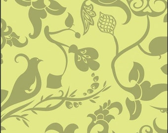 Palace Conversation Lime Alhambra II Fabric by Art Gallery One Yard