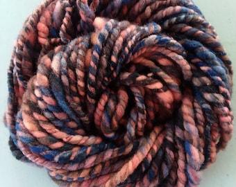 Hand Spun Merino Yarn-Bulky-Super Soft-Baby Blanket Yarn, Next-to-the-Skin Soft