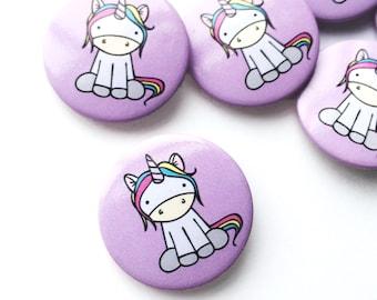 Super Cute Pin Badge Unicorn Gift Party Favour Accessories Wedding Favour Button Badge Unicorn Accessory