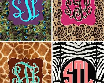 Animal Safari Print Binder insert sheets... Please read item description before purchase. {cheetah, leopard, zebra, peacock, giraffe}