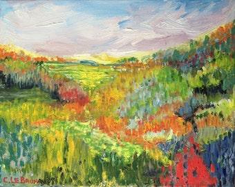 SALE: Original Painting - Inspirational Glimpse