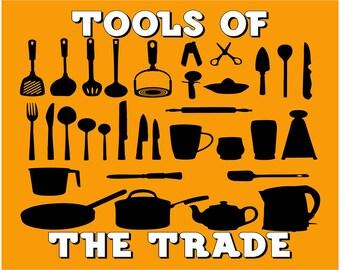 Tools of the trade trivet