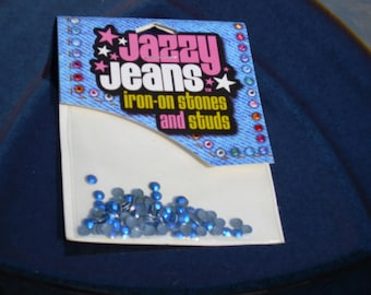 Jazzy Jeans Iron on Stones and Studs