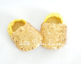Baby Sequin Shoes / Baby Shoes / Shoes / Cloth Baby Shoes