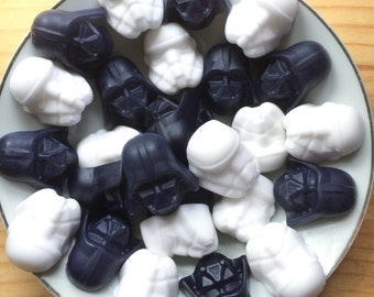 Star Wars Soaps - Fathers gift for him - Darth Vader Stormtrooper - Solo movie - May the Force be with you - dad gift