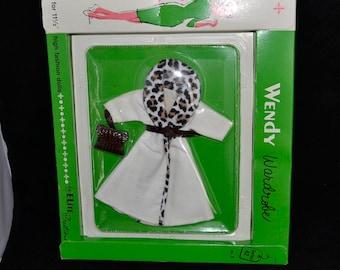 Minty NrfC 1962  Vintage Uneeda Wendy Bild Lilli Barbie doll Clone Elite Creations Fashion Outfit  leopard collar trim coat