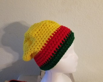 Crochet Rasta hat