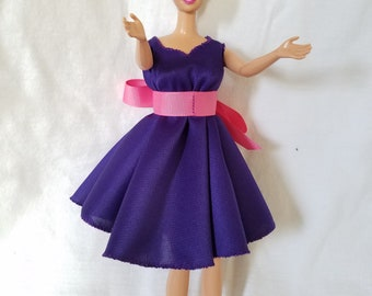 Barbie Doll Party Dress + Shoes!