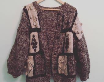 Chunky 80's knitwear