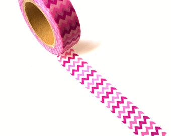 Washi Tape Pink Chevron
