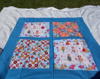 Fairies and Flowers Baby Blanket