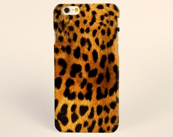Brown Leopard Wild Animal iPhone 8 case, iPhone X case, iPhone 7 plus case, iPhone 6s case tough case samsung galaxy s8 case, fashion case