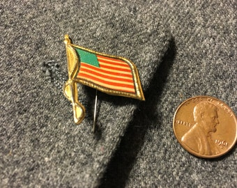 Vintage American flag Stick pin