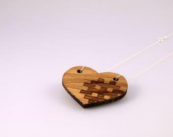 Hiraeth Collection - 'Tarian' Oak Pendant