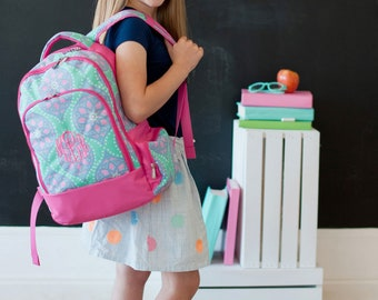 Marlee Back to School, Marlee Backpack, Marlee Lunchbox, Marlee Pencil Case, Monogram Backpack, Personalized Backpack, Monogram Bookbag