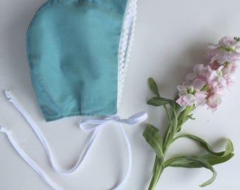 Baby bonnet// organic cotton bonnet