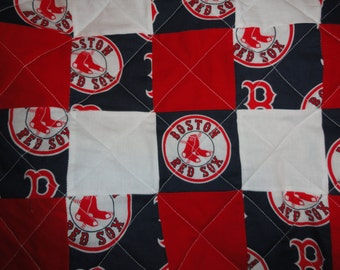 Boston Red Sox  full size quilt