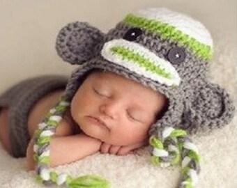 Boy's Monkey Hat