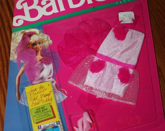 Barbie My First Fashions No. 9283 MINT on Card 1989 Mattel