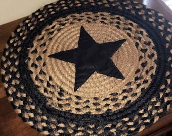 Round Star Placemat