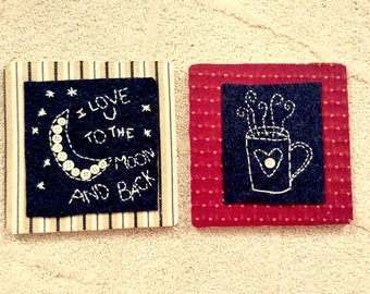 Either Or Embroidery Pictures
