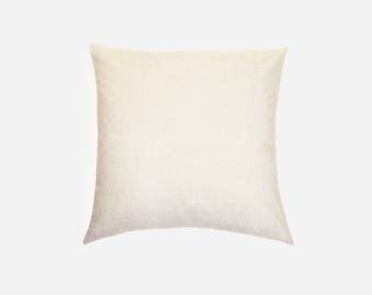 Natural Flax Linen Pillow Cover | Various Sizes