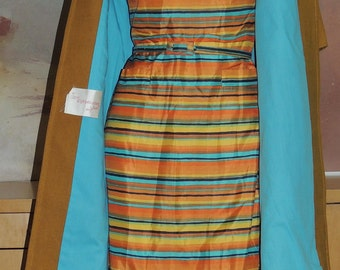 Junior Sophisticates  Sheath and Duster Ensemble Beautiful Condition Size Small