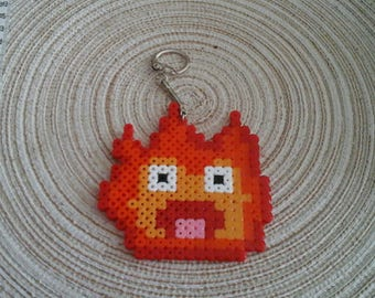 Howl's moving Castle Calcifer keychain