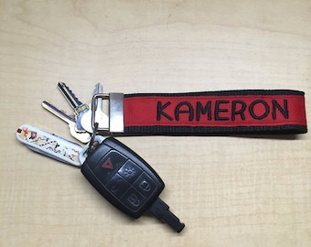Embroidered Key Fob/Key Chain,Tags