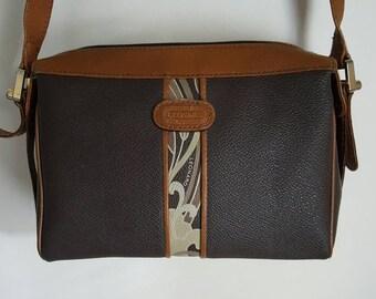 Leonard Brown Crossbody Bag