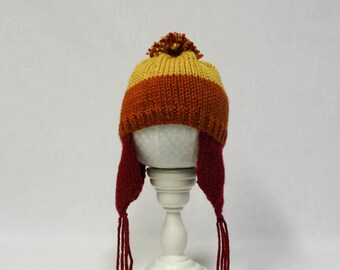 Cunning Jayne Cobb Earflap Hat knitting PATTERN - baby  - permission to sell finished items