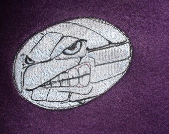 """VB Blanket Optional Personalization Embroidered Volleyball Purple Fleece Blanket 50"""" x 60"""" VB Athlete"""