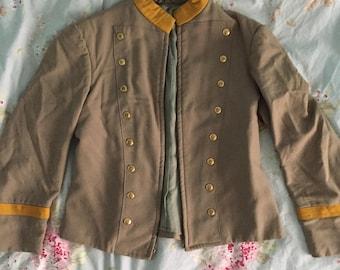 Beige Marching Band Jacket
