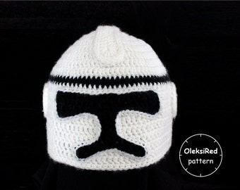 Clone hat crochet pattern!