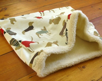 Dog Snuggle Sack/Snuggle Pod/Warm Dog Bed/Dog Fleece Blanket/Burrow Bed/Dog Tunnel Bed/Dog Sleeping Bag