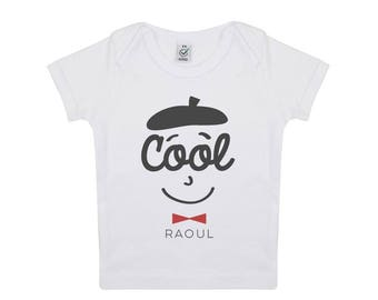 Baby organic cotton Cool Raoul tshirt