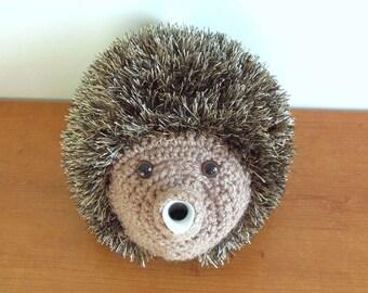 Hedgehog tea cosy. Great tea cozy in your kitchen, dining. handmade tea cosy. animal tea cosies uk. woodland animal tea cosy. hedgehog gifts