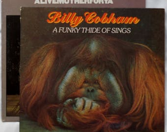Billy Cobham - 2 lp's - Alivemutherforya 1st Issue WLP - Funky Thide Of Sings