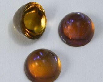 11mm Dark Topaz Fire Opal #1716