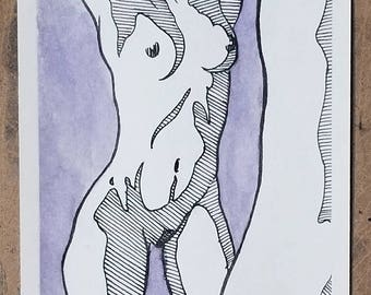 Art, drawing, ink