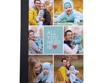 Add Your Own Photos With All You Need Is Love Folio Case For The iPad Mini 1,2,3 and 4