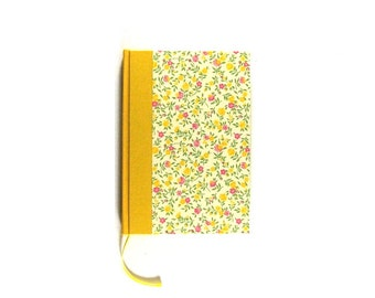 Notebook Flower Rain Yellow Pink