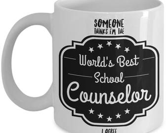 School Counselor  -  Guidance Counselor  -  Counselor Thank You  -  Counselor Christmas  - Counselor Mug  - Best Counselor  - Counselor Gift